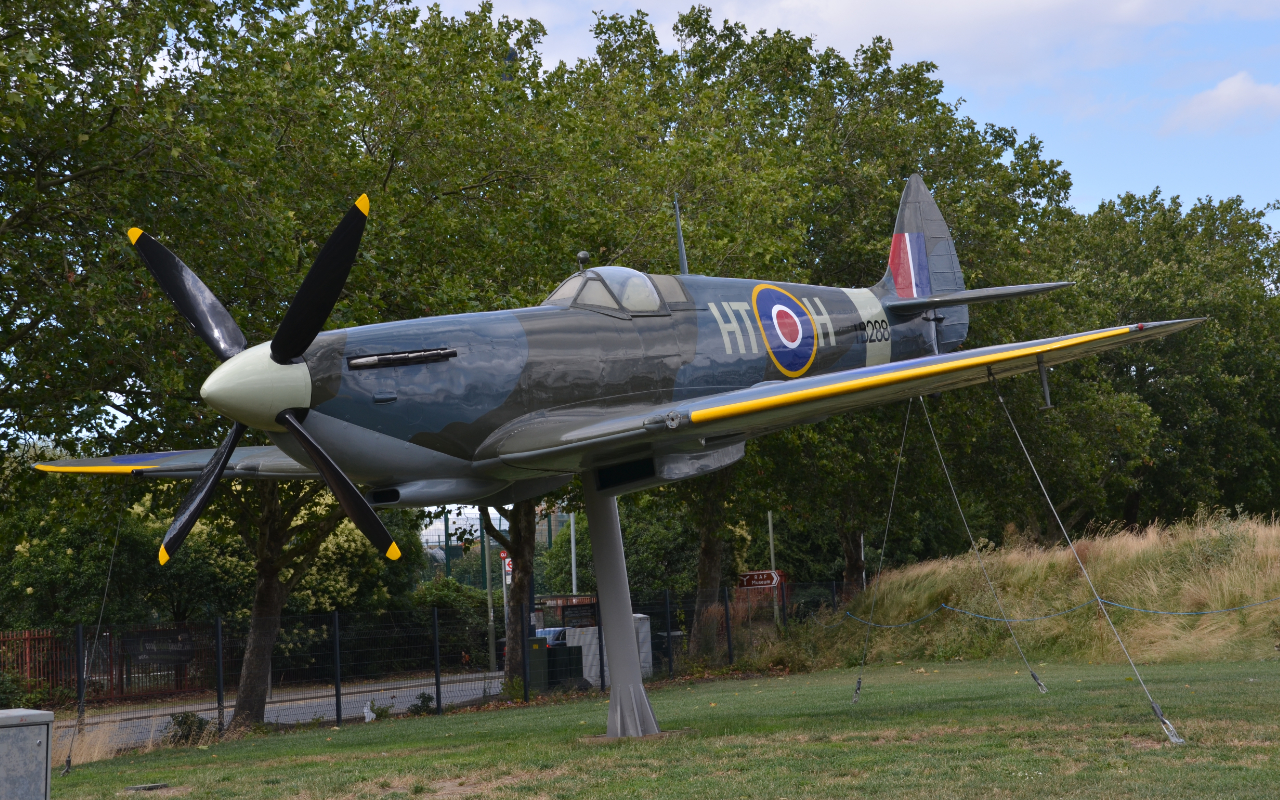 Gatekeeper Spitfire on show