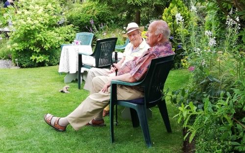 Garden Visit Hilperton House