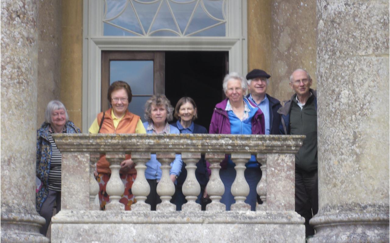 Hisstory Group on Balcony