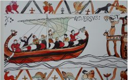 Tapestry of Harold returns to England