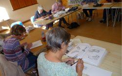 Group Members Sketching