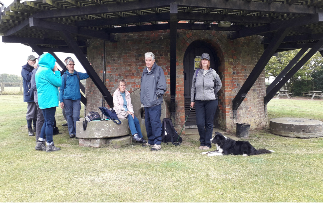 Group Picture at Wilton Windmill