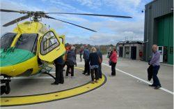 Visit to Air Ambulance