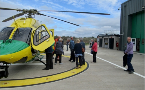 Visit to Air Ambulance