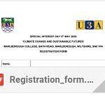 Registration Form in pdf