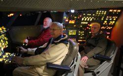 Cockpit of the Concorde