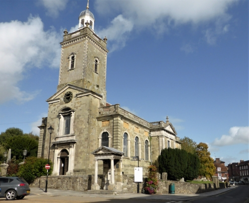 Church of St Peter & St Paul at Blandford