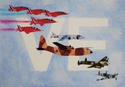7 May 2021 Remembering VE Day Flypast by Jenny Otridge